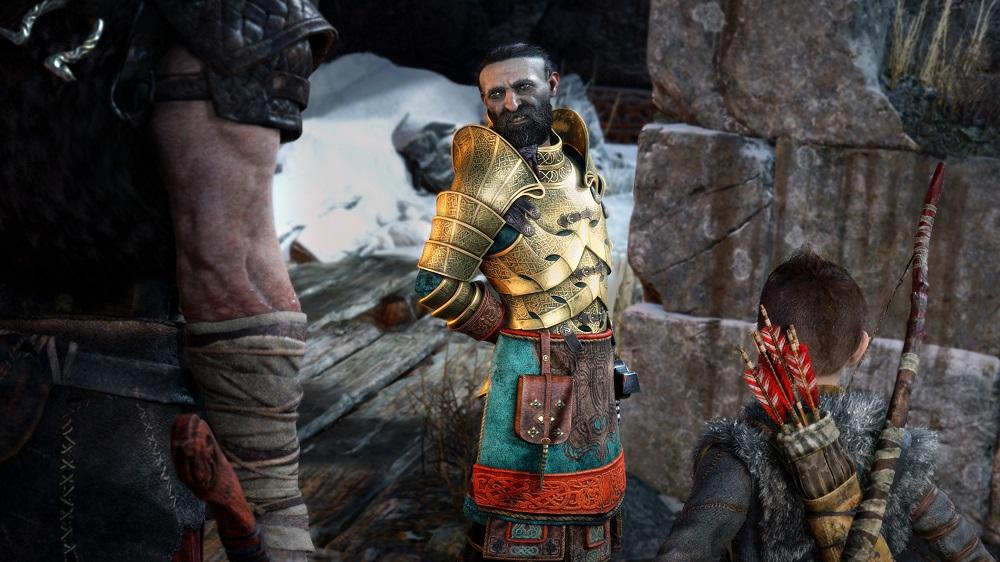 God of War PS4 PlayStation 4 Pro Review Test Kritik Sony Santa Monica Charaktere Text