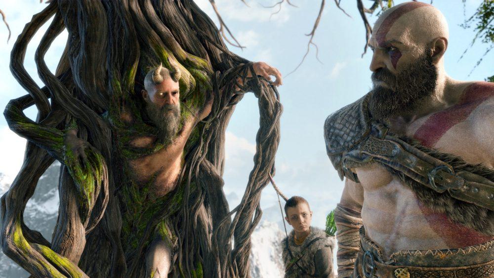 God of War PS4 PlayStation 4 Pro Review Test Kritik Sony Santa Monica Charaktere