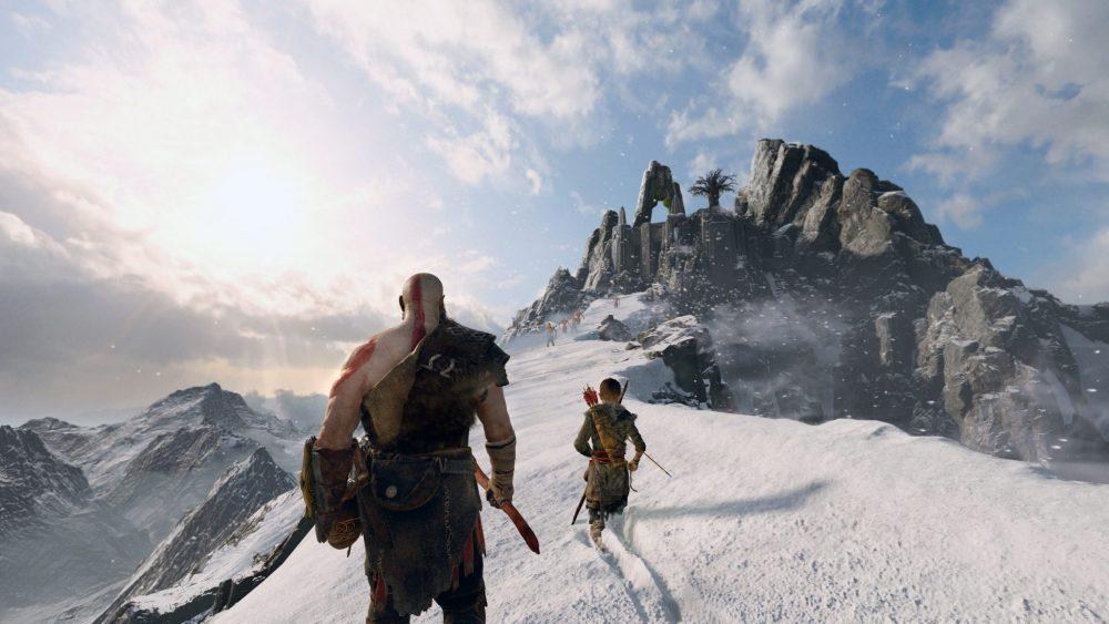 God of War PS4 PlayStation 4 Pro Review Test Kritik Sony Santa Monica Spielwelt
