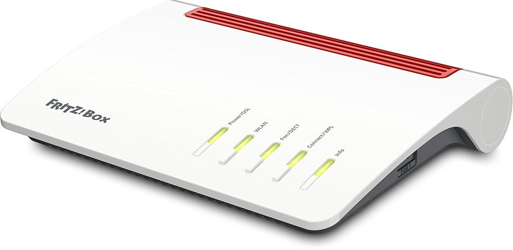AVM FRITZ!Box 7590 Review Kritik Router WLAN LAN Design