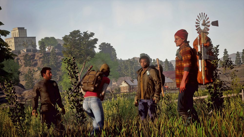 State of Decay 2 MIcrosoft Xbox One PC Zombie Survival Simulation Test Kritik Gemeinschaft