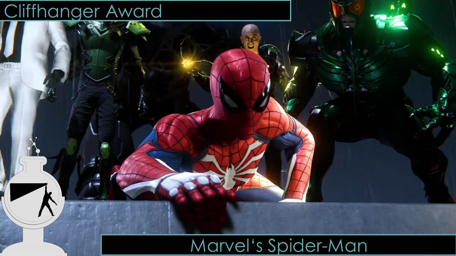 e3 2018 Cliffhanger award spider-man