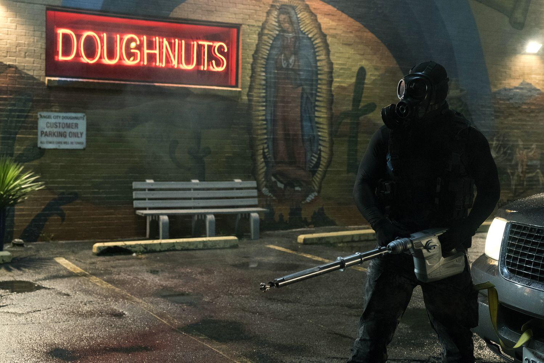 Criminal Squad Blu-ray Review Test Kritik Concorde Home Entertainment Action Doughnuts