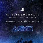 PlayStation E3 2018 Showcase Sony PlayStation 4 Pro Titel