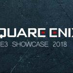 Square Enix E3 Showcase 2018 E3 2018 Pressekonferenz SE SquareEnixE3 Titel