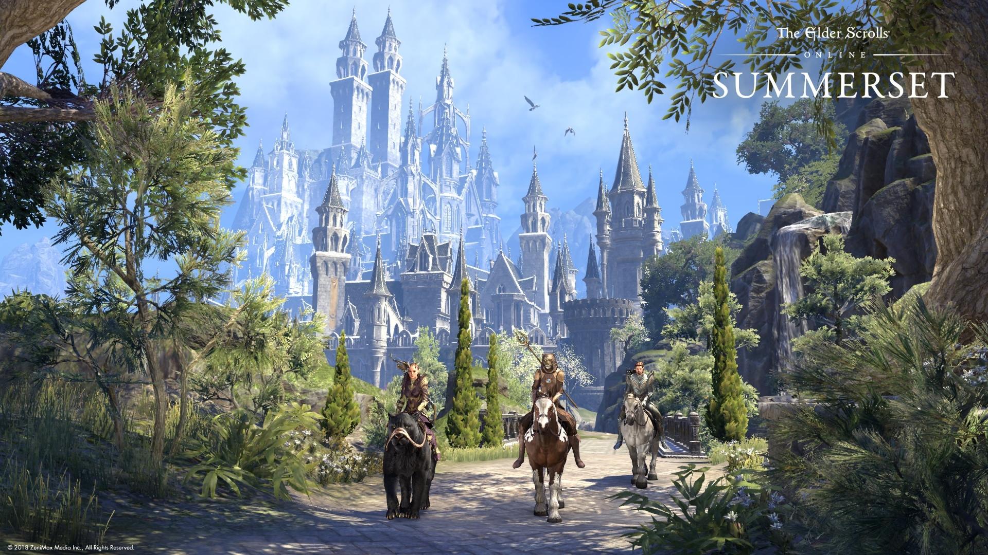 Summerset The Elder Scrolls Online Tamriel Unlimited Xbox One PS4 PC Review Test Kritik Malerische Umgebung
