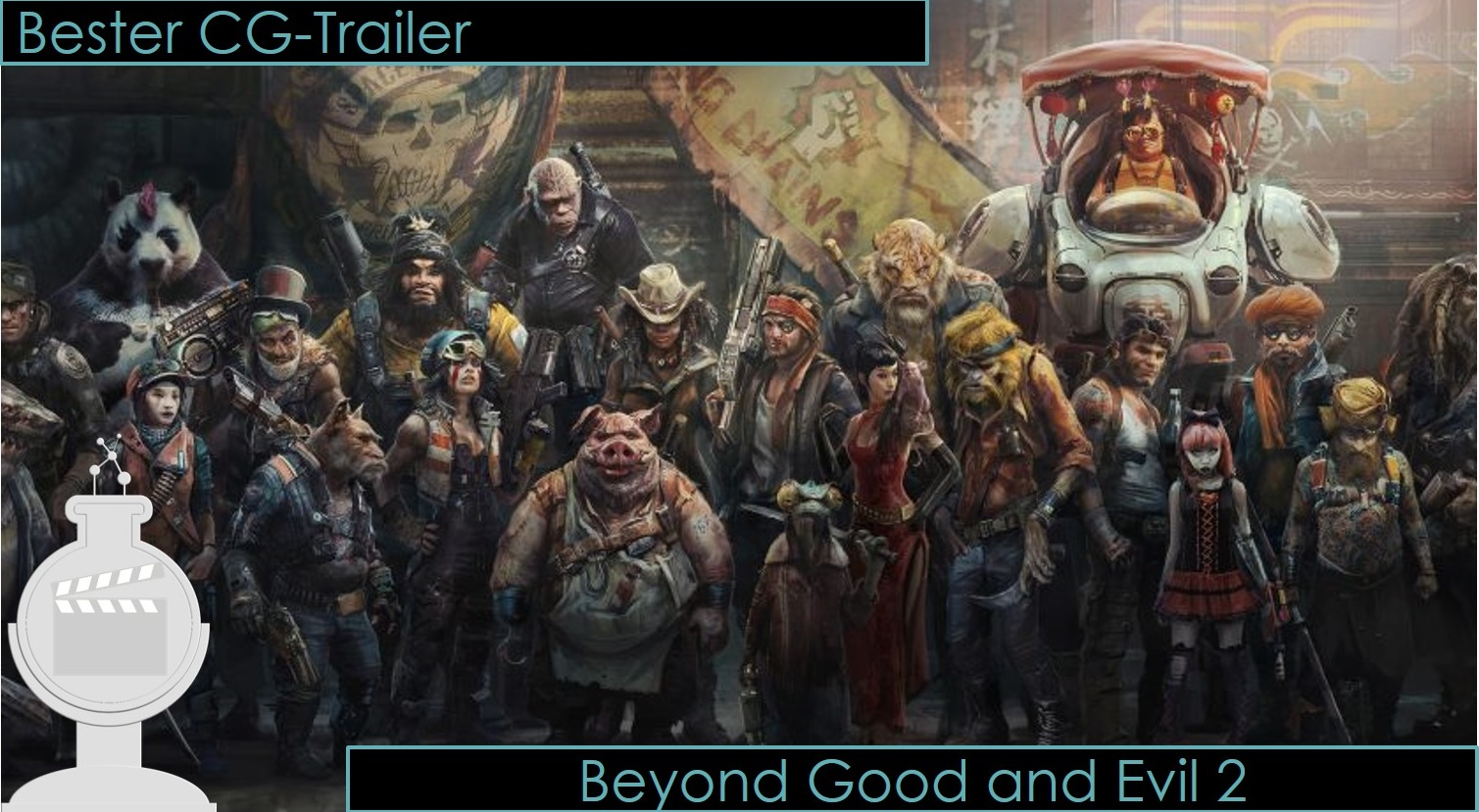 E3 2018 Award bester Trailer beyond good and evil 2