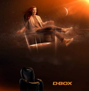 Produktbild D-Box 4D Kino Sessel