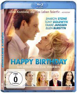 Happy Birthday Ein Geburtstag zum Verlieben Gewinnspiel Blu-ray Heimkino Sharon Stone Test Review Kritik DVD Titel