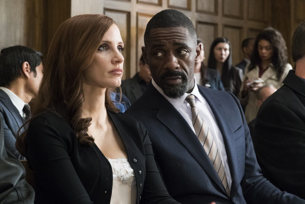 Molly's Game Jessica Chastain Idris Elba DVD Blu-ray Kritik Review Test Bild