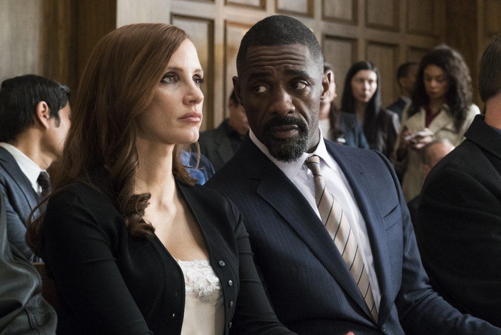 Molly's Game Jessica Chastain Idris Elba DVD Blu-ray Kritik Review Test Bild