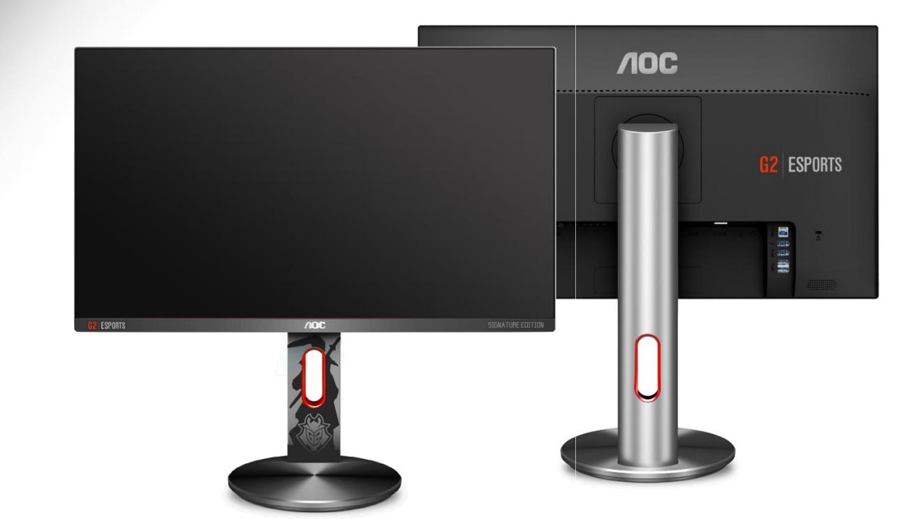 AG273QCG AG273QCX AOC Gaming Monitor 4k HDR 2018 2019 Gamescom 2018 Vorschau Zukunft G2 Esports