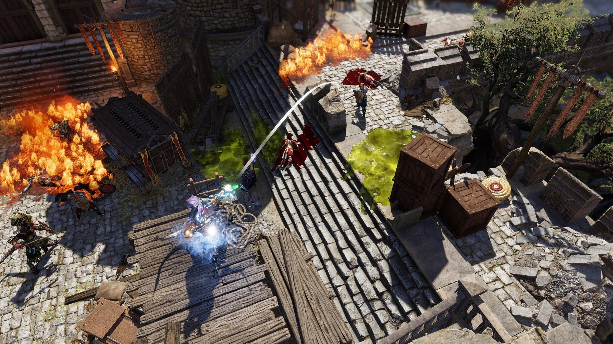 Divinity Original Sin 2 Test Review PS4 Xbox One RPG Namco Bandai Kampf