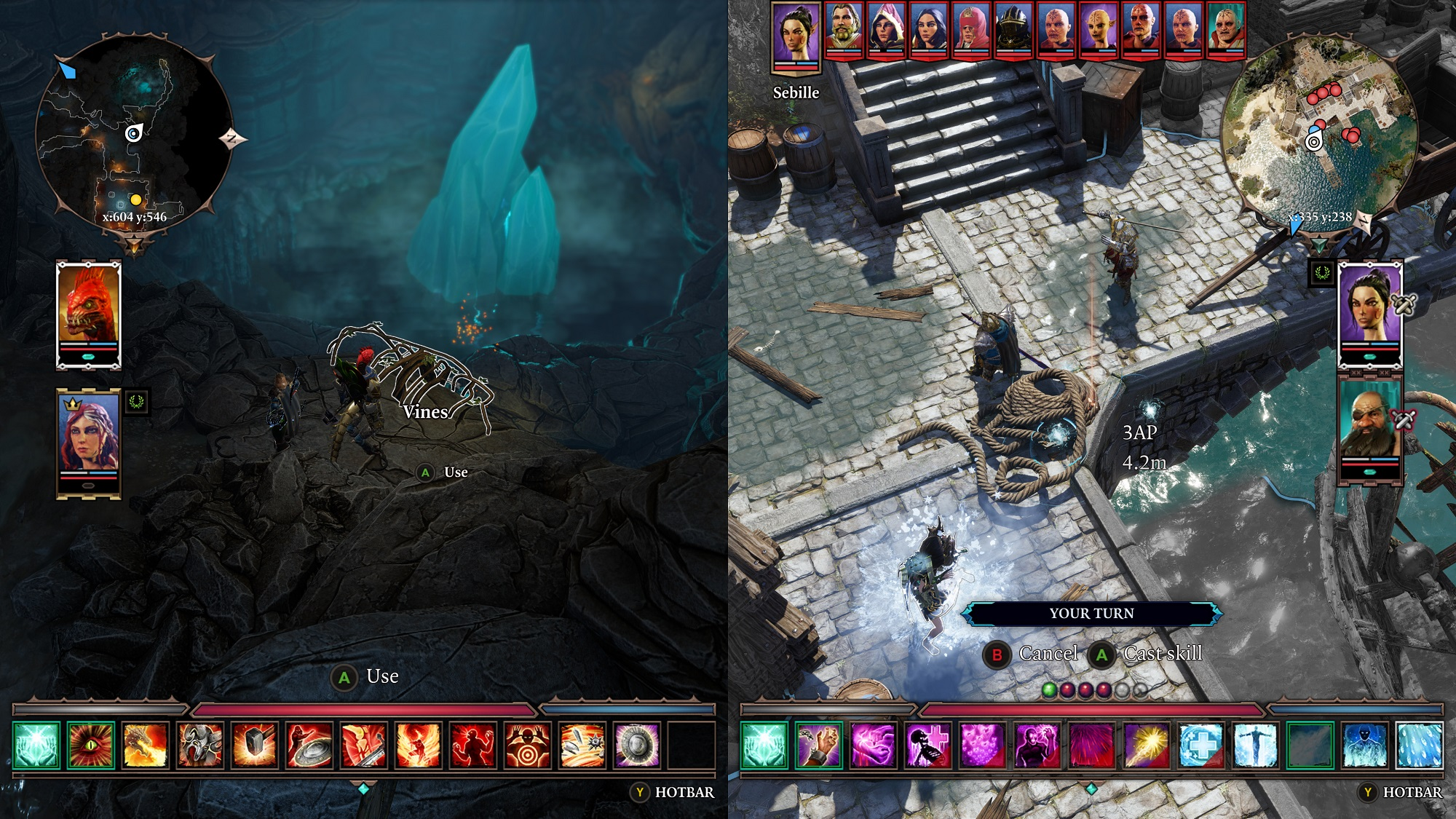 Divinity Original Sin 2 Test Review PS4 Xbox One RPG Namco Bandai Split Screen