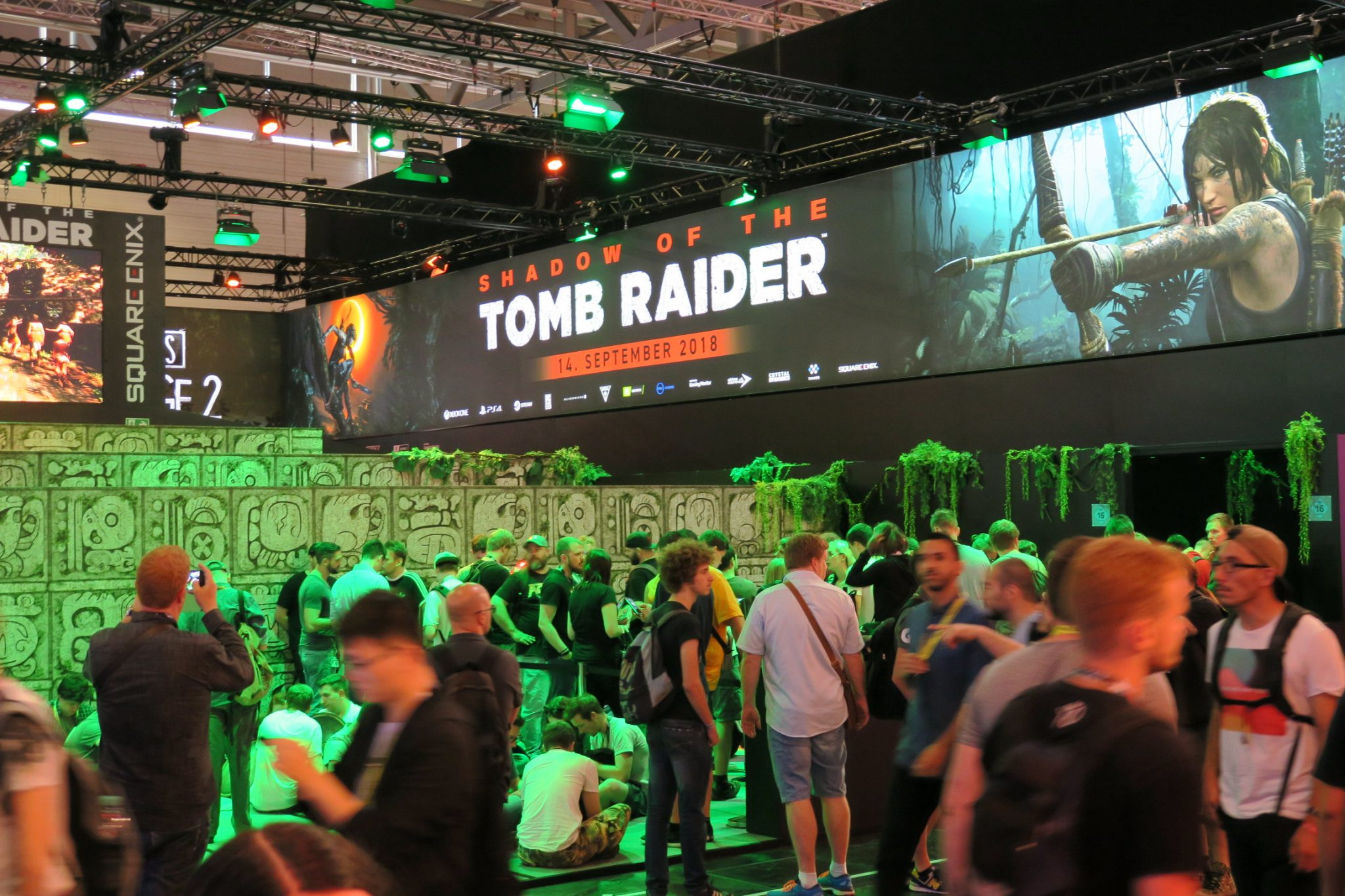 Gamescom 2018 Tagebuch Tag 1 Tomb Raider Wartezeit Square Enix