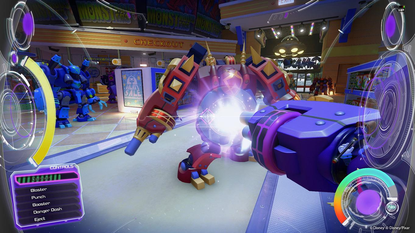 Kingdom Hearts III Preview Vorschau Demo Toy Story Sora Square Enix Gamescom 2018 Rakete Mech