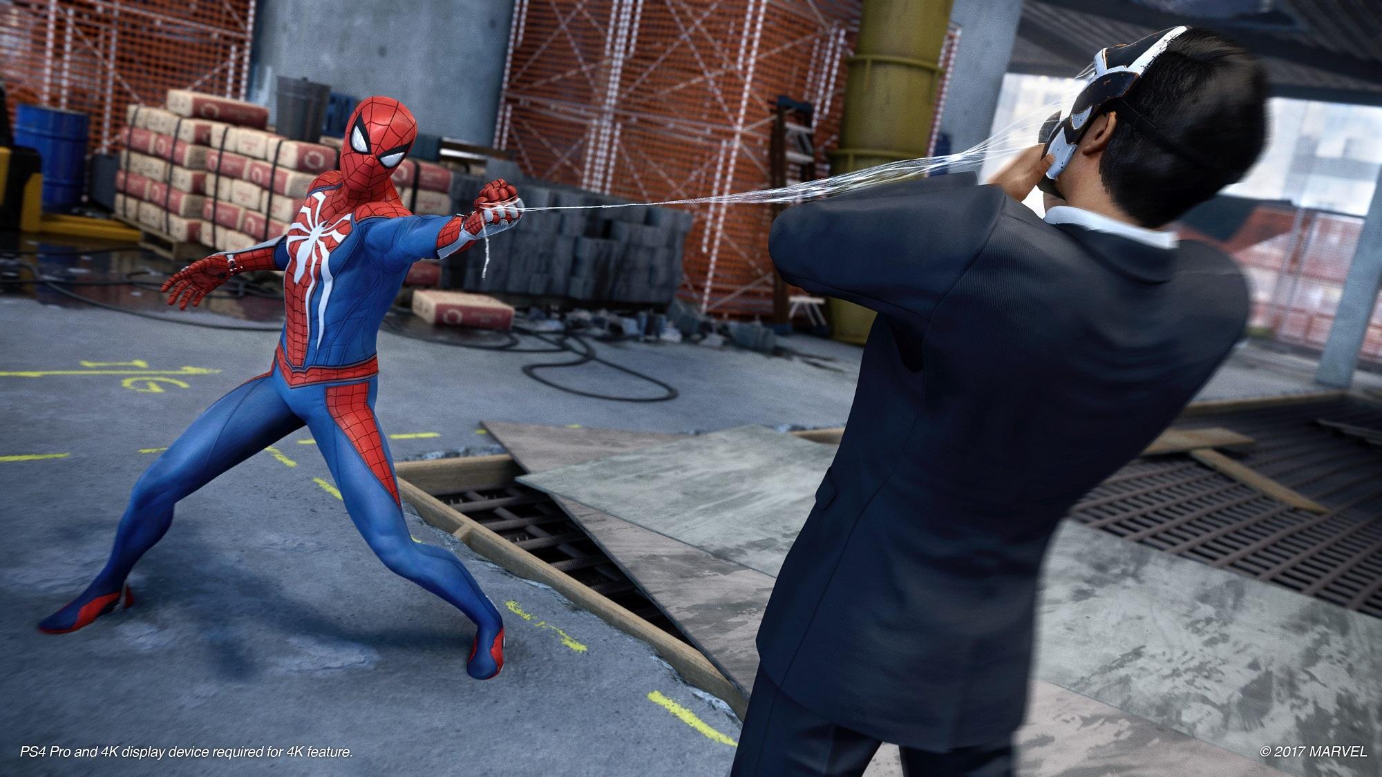 Marvel's Spider-Man Gamescom 2018 Interview Preview Vorschau PlayStation 4 Jacinda Chew Cameron Christian Sony Kampf