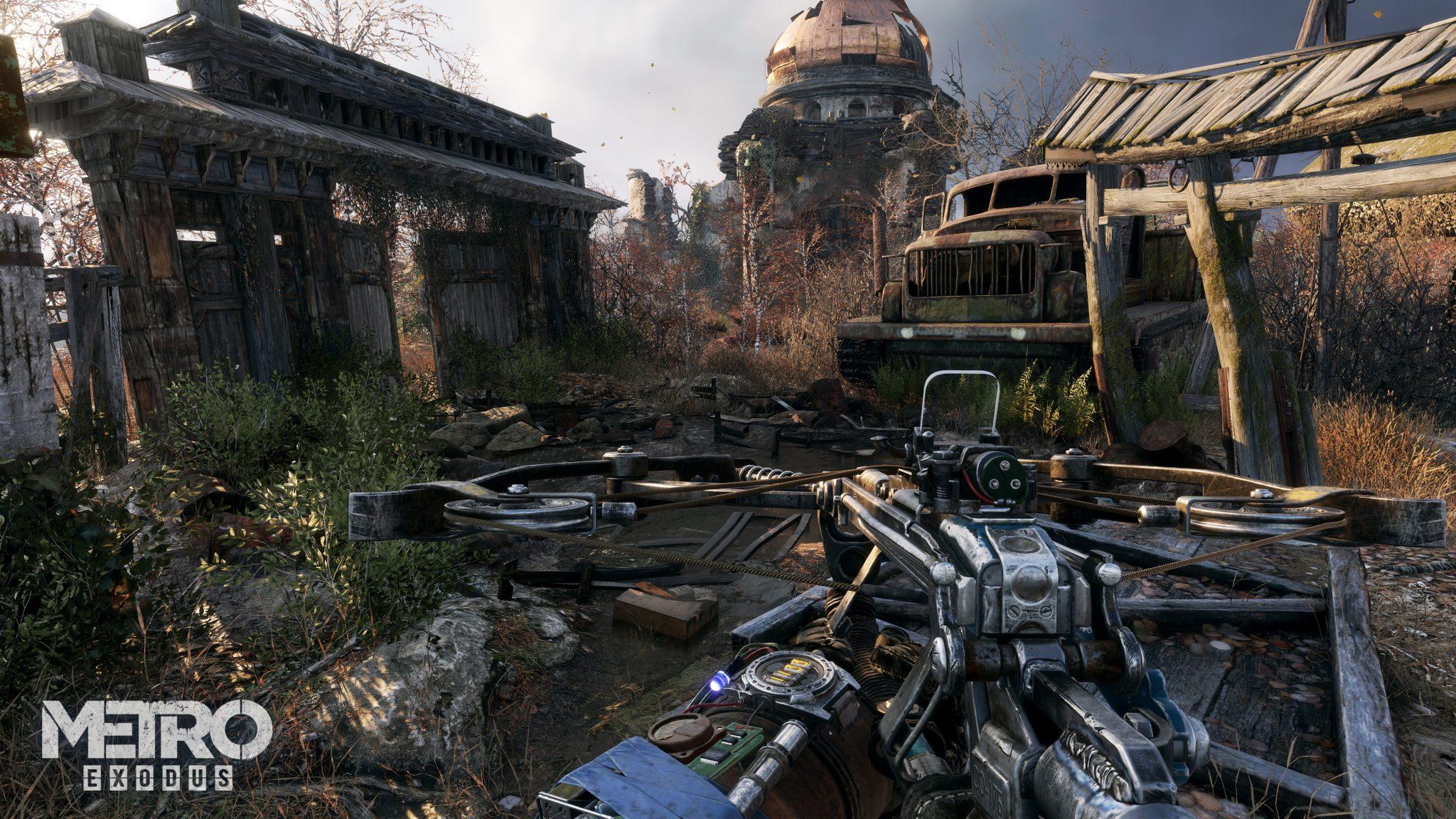 Metro Exodus Screenshot Preview Gamescom 2018 Deep Silver Ego-Shooter Ausrüstung