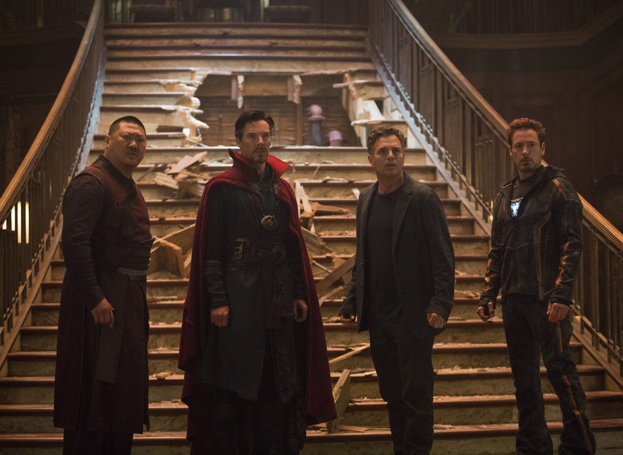 Avengers Infinity War Heimkino Blu-ray DVD Test Kritik Review Disney MCU Marvel Thanos Titel