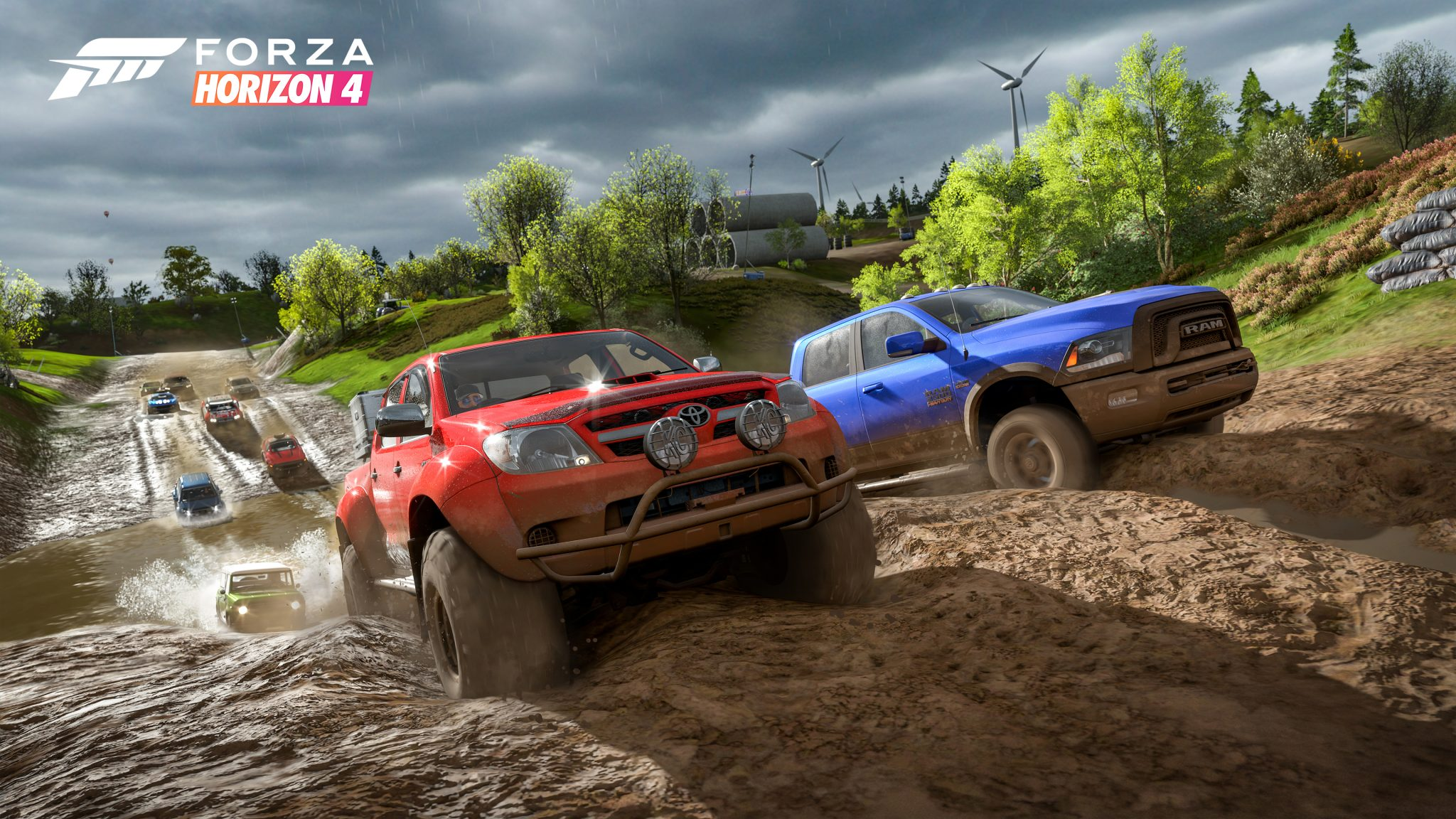 Forza Horizon 4 FH4 Xbox One X PC Ultimate Review Test Kritik Schlamm