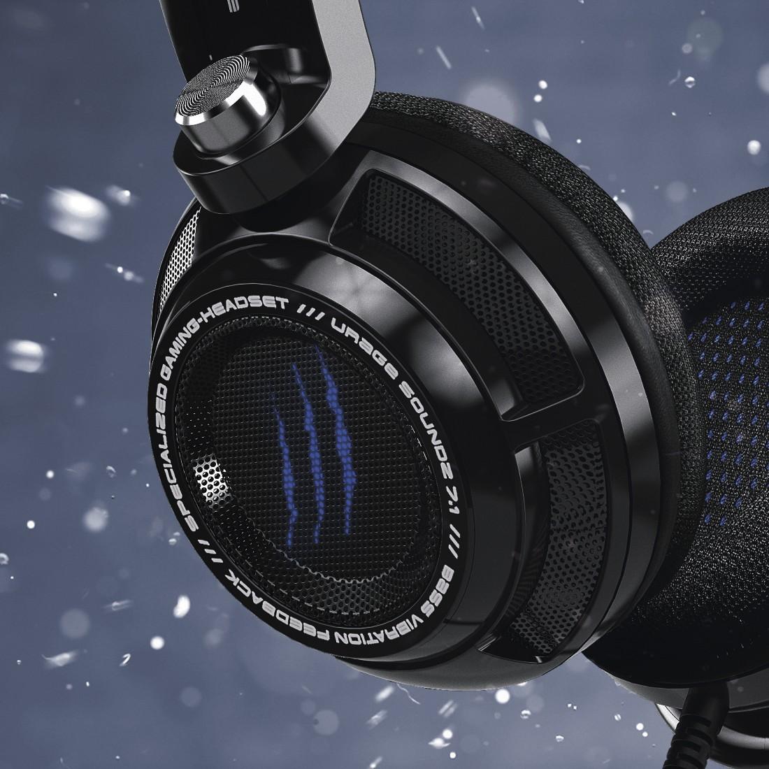 Hama uRAGE SoundZ 7 1 SoundZ Essential Gaming Headset Review Test Vergleich SoundZ 7 1 Seite