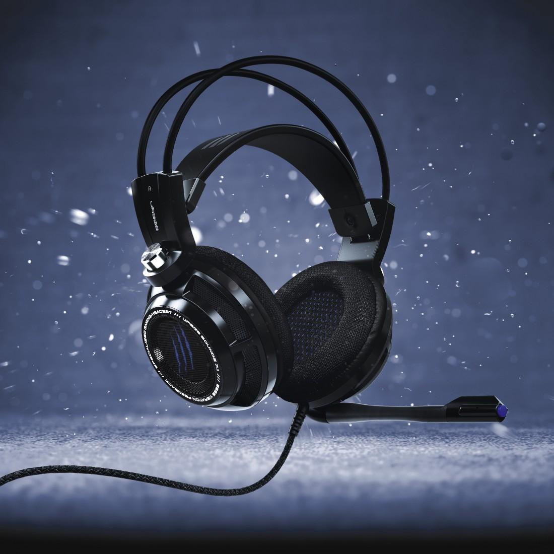 Hama uRAGE SoundZ 7 1 SoundZ Essential Gaming Headset Review Test Vergleich SoundZ 7 1 bunt