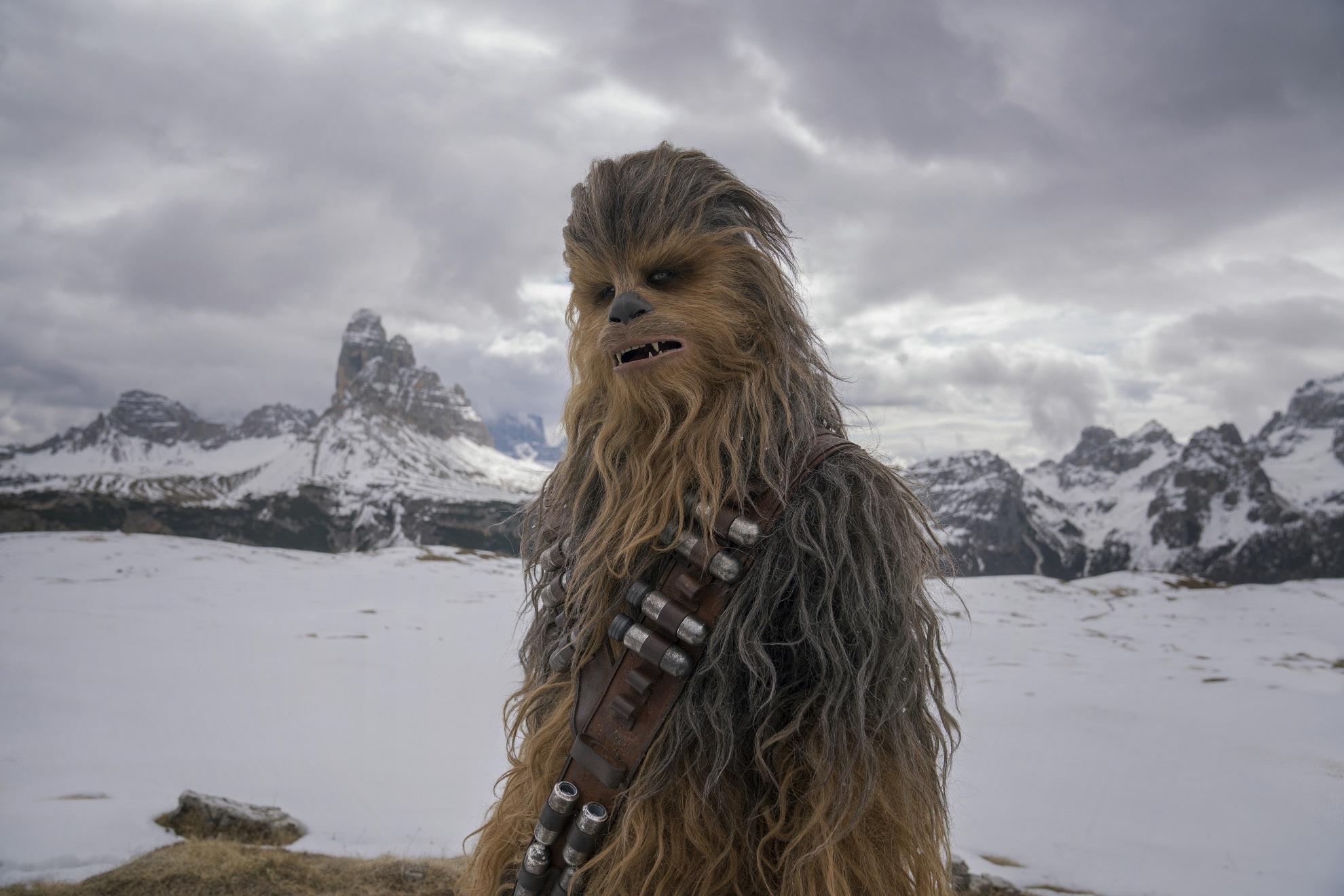 Solo A Star Wars Story Han Solo Chewbacca Chewie Spin-off Disney Test Kritik Heimkino Blu ray DVD Chewie