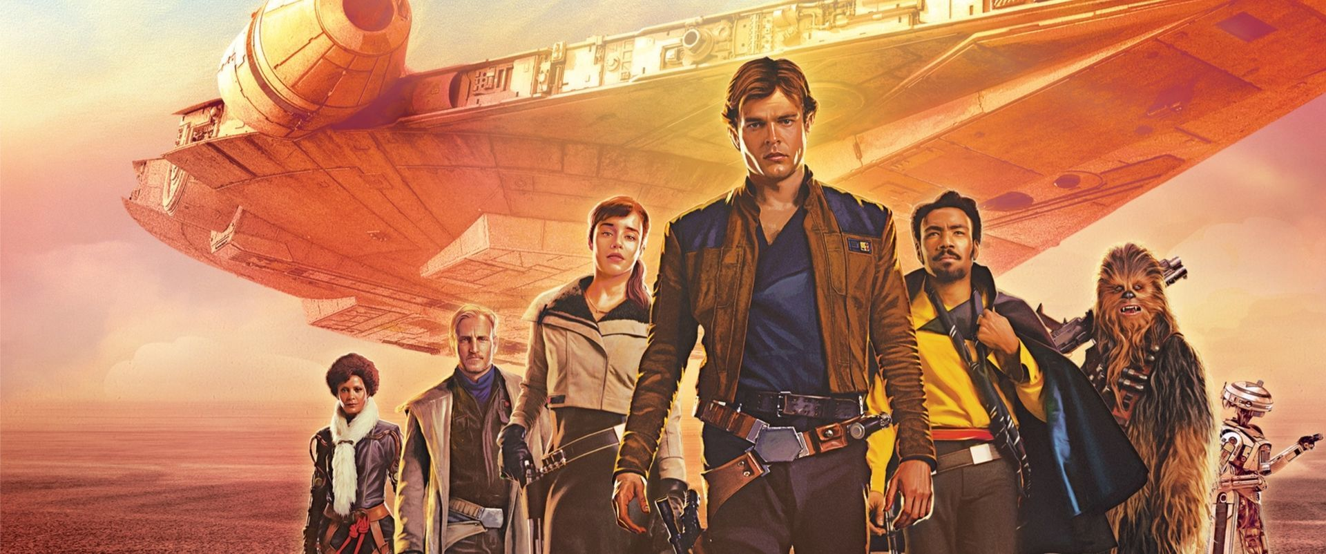 Solo A Star Wars Story Han Solo Chewbacca Chewie Spin-off Disney Test Kritik Heimkino Blu ray DVD Titel