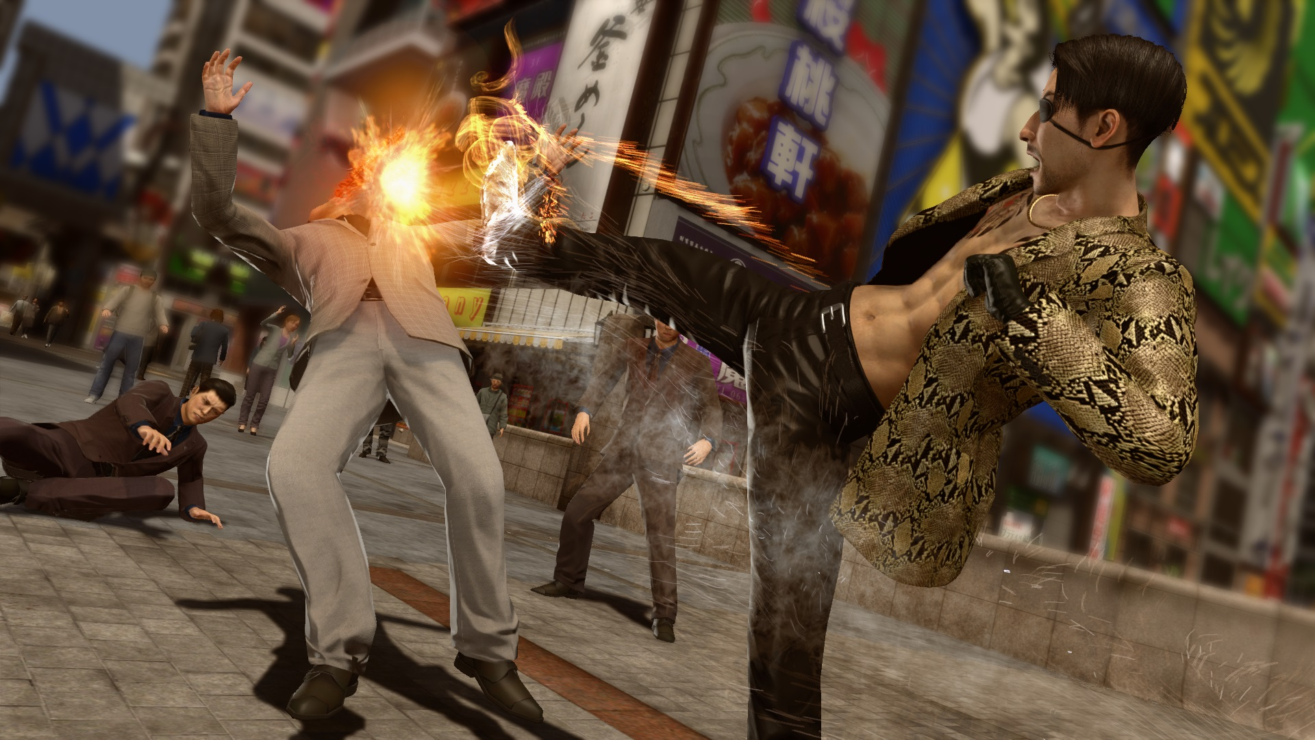 Yakuza Kiwami 2 SEGA Koch Media Kritik Review Test PlayStation 4 Action Open World Remake Kampf