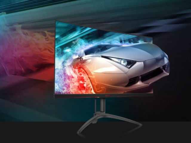 AOC AGON AG322QC4 HDR QHD Gaming Monitor Test Review Kritik Profi Design Titel