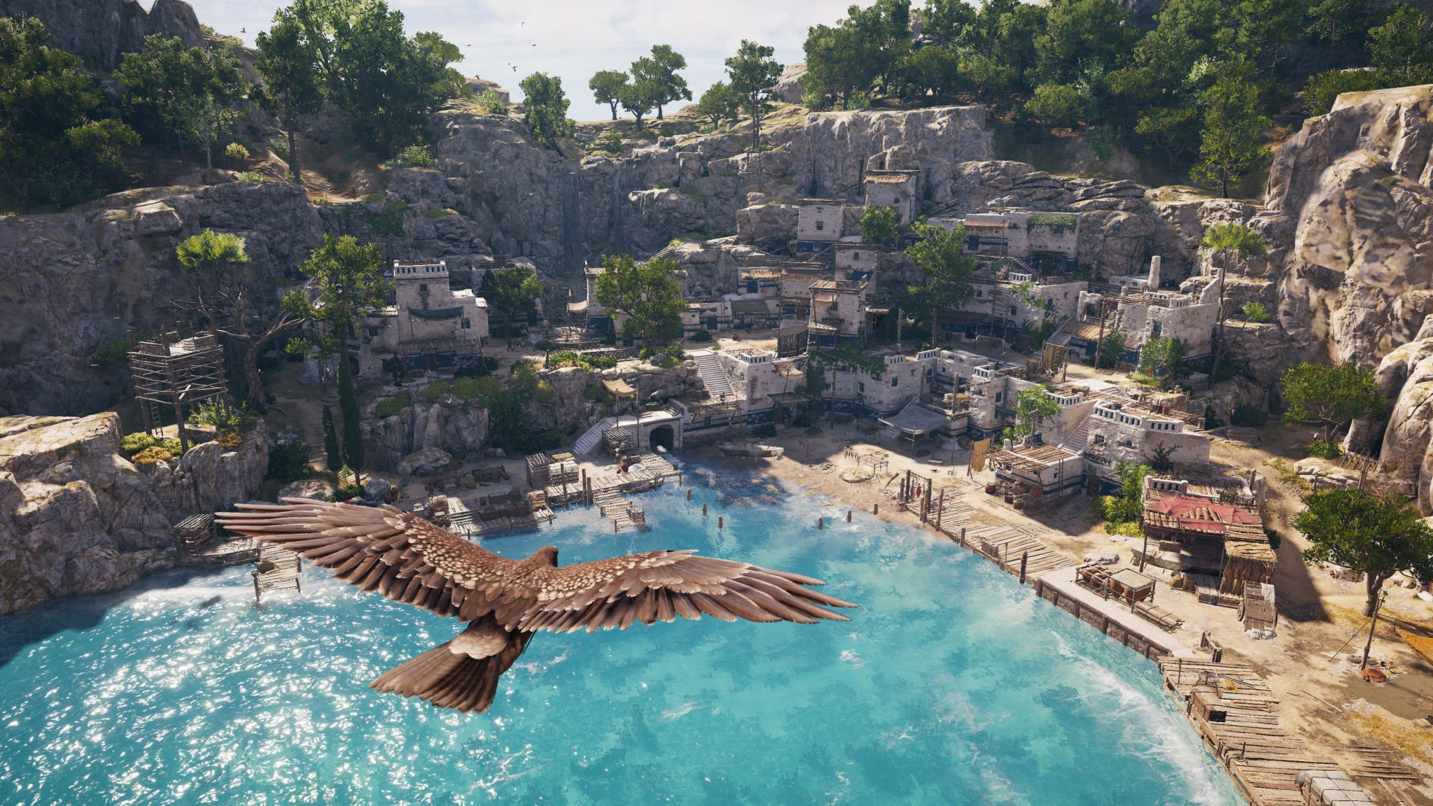 Assassin's Creed Odyssey AC Odyssey Xbox One X PlayStation 4 Pro PS4 Pro PC Ubisoft Test Kritik Review Ikarus