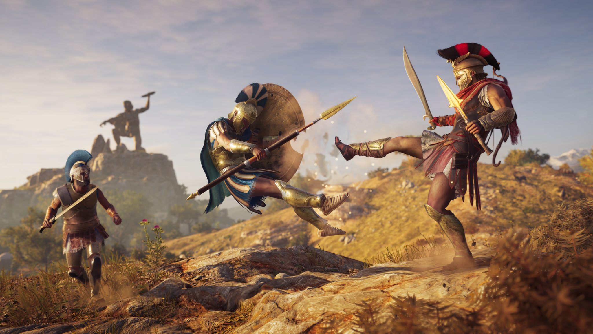 Assassin's Creed Odyssey AC Odyssey Xbox One X PlayStation 4 Pro PS4 Pro PC Ubisoft Test Kritik Review Sparta