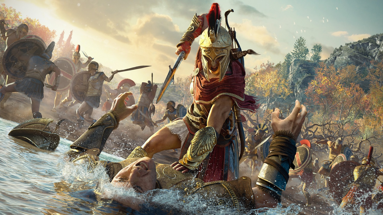 Assassin's Creed Odyssey AC Odyssey Xbox One X PlayStation 4 Pro PS4 Pro PC Ubisoft Test Kritik Review Titel