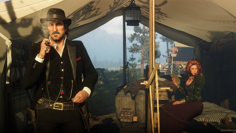 Red Dead Redemption 2 RDR 2 PS4 Pro Xbox One X Review Test Kritik Dutch Arthur Morgan Dutch Van der Linde Western Wild West