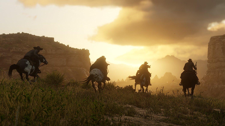 Red Dead Redemption 2 RDR 2 PS4 Pro Xbox One X Review Test Kritik Dynamik Arthur Morgan Dutch Van der Linde Western Wild West
