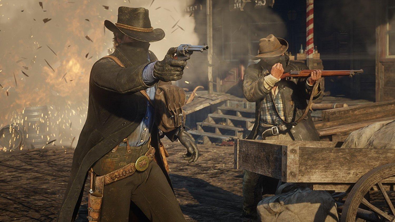 Red Dead Redemption 2 RDR 2 PS4 Pro Xbox One X Review Test Kritik Gemeinschaft Arthur Morgan Dutch Van der Linde Western Wild West