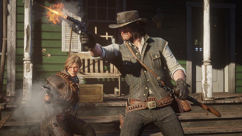 Red Dead Redemption 2 RDR 2 PS4 Pro Xbox One X Review Test Kritik Revolverheld Arthur Morgan Dutch Van der Linde Western Wild West