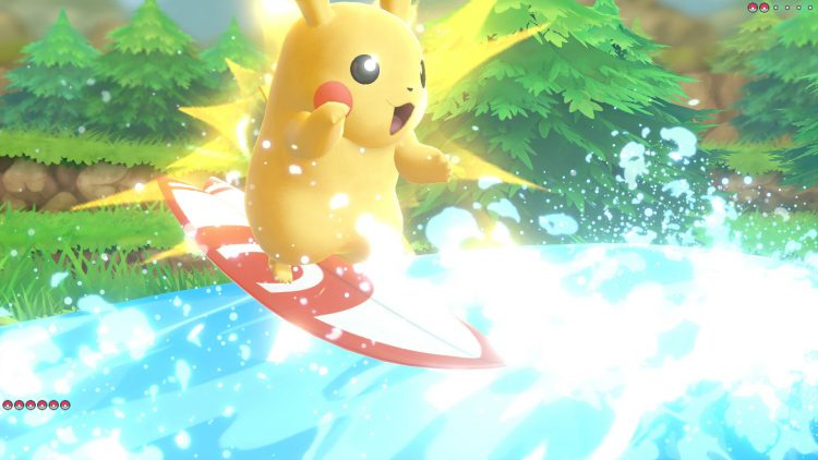 Pokemon Let's Go, Pikachu! Pokemon Let's Go, Evoli! Pokemon lets go pikachu Nintendo Switch NSW Test Review Kritik Gelbe Edition Taschenmonster Freundschaft