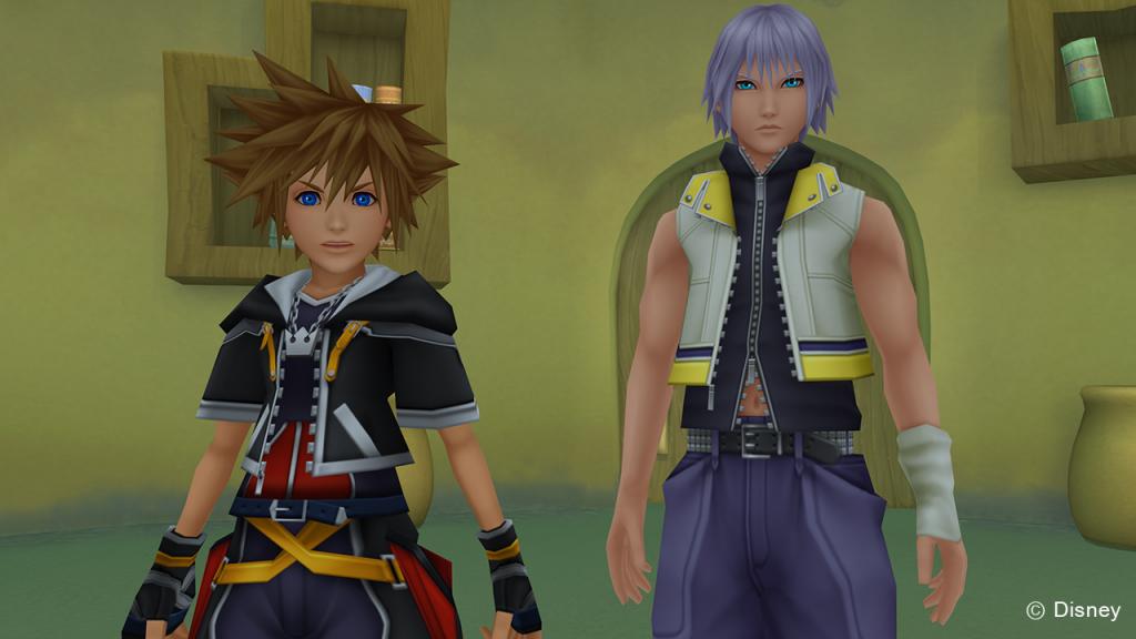 Kingdom Hearts Sora und Riku