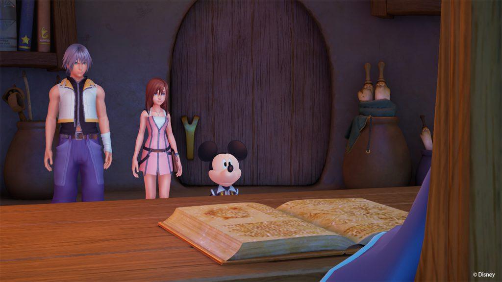 Kingdom Hearts Riku Kairi Micky