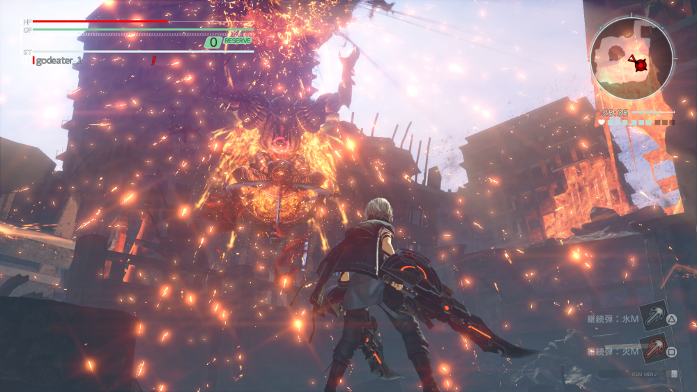 God Eater 3 Action RPG PS4 Pro PlayStation 4 Pro PC Bandai Namco Review Test Kritik Effekte