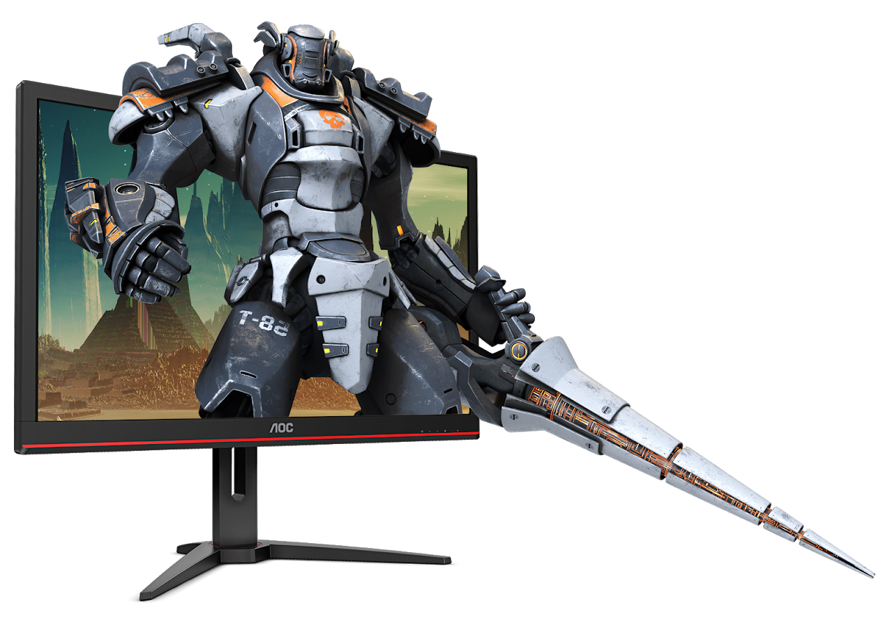 AOC G2868PQU Gaming Monitor 4K HDR Free Sync Technik Vorstellung