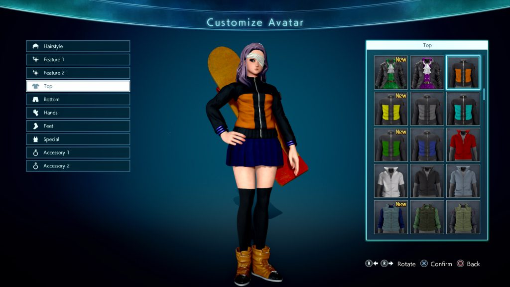 Jump Force Outfit