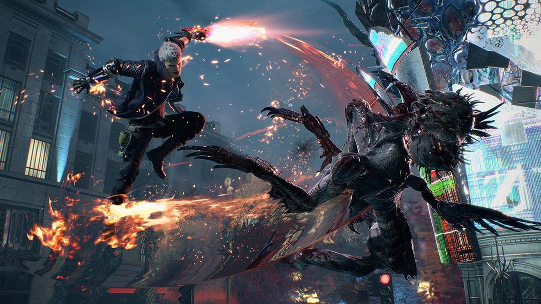 Devil May Cry 5 Xbox One Review Devil May Cry 5 PlayStation 4 Review Test Kritik Xbox One X PS4 Pro Titel Capcom 1