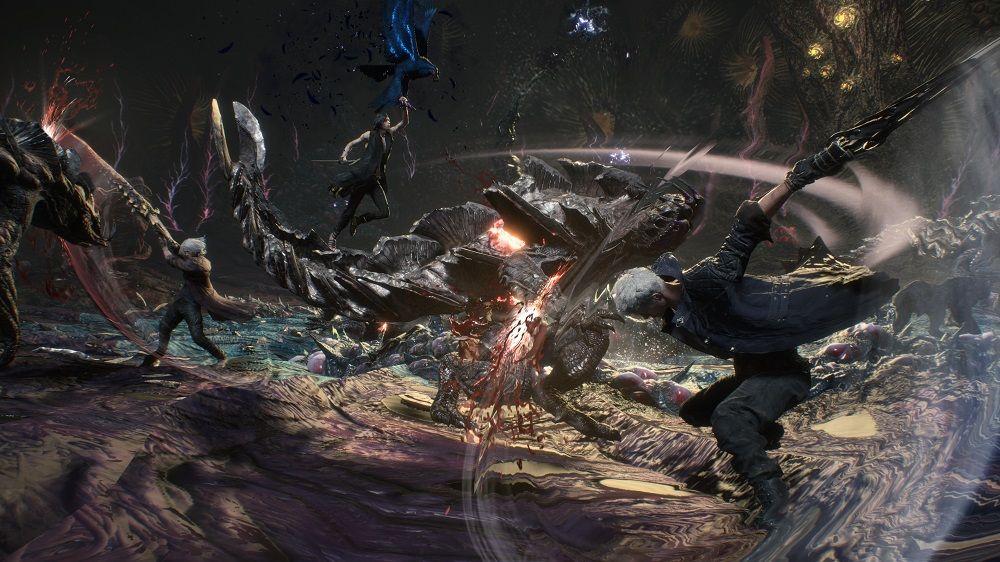 Devil May Cry 5 Xbox One Review Devil May Cry 5 PlayStation 4 Review Test Kritik Xbox One X PS4 Pro Titel Capcom 2