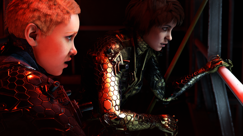 GSA_Wolfenstein_Youngblood_sisters_zeppelin_PS4 Xbox One Gameplay
