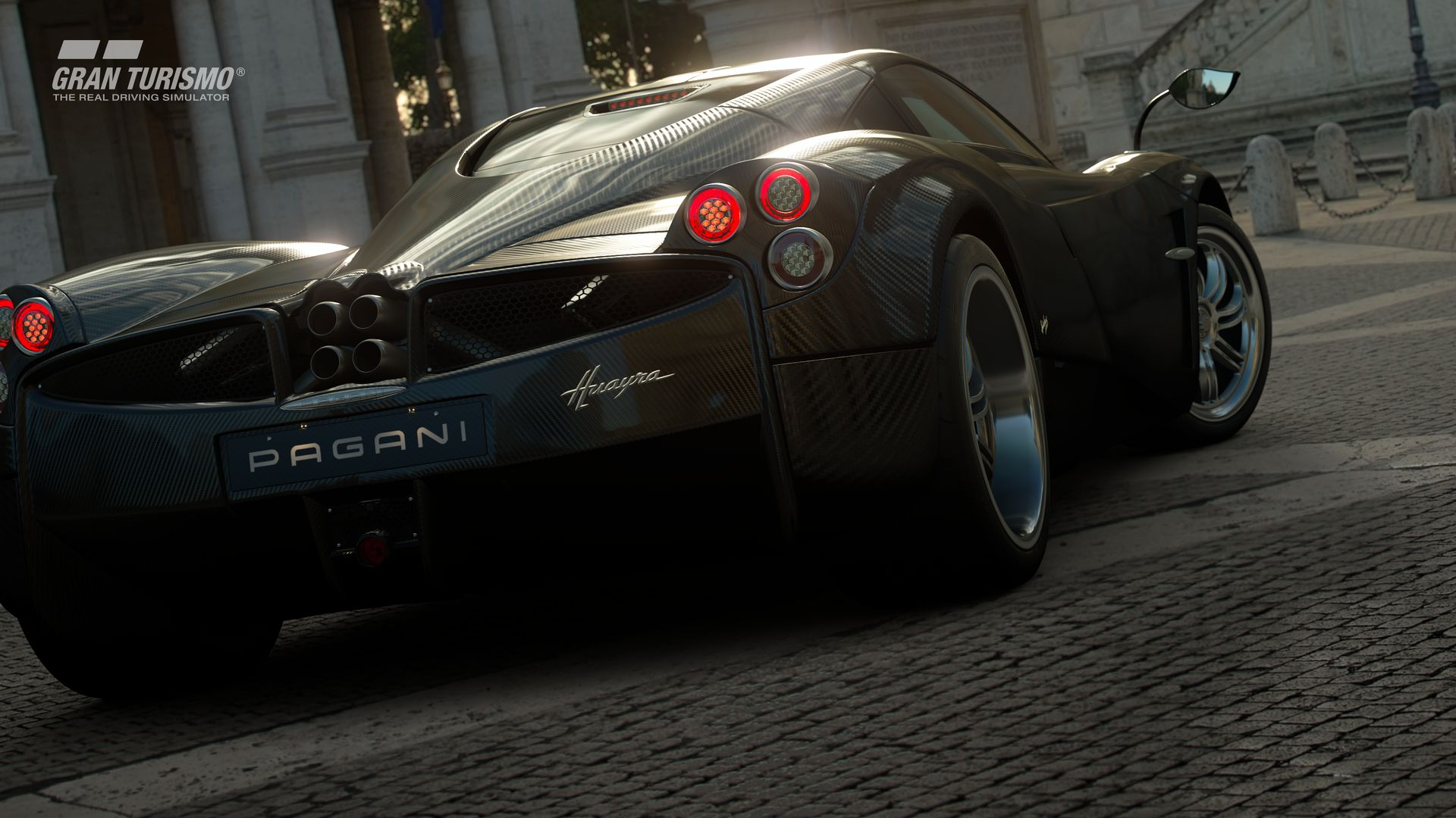 Gran Turismo Sport PlayStation 4 Pro PS4 Pro Update News Pagani Huayra Pagani_Huayra_13_02