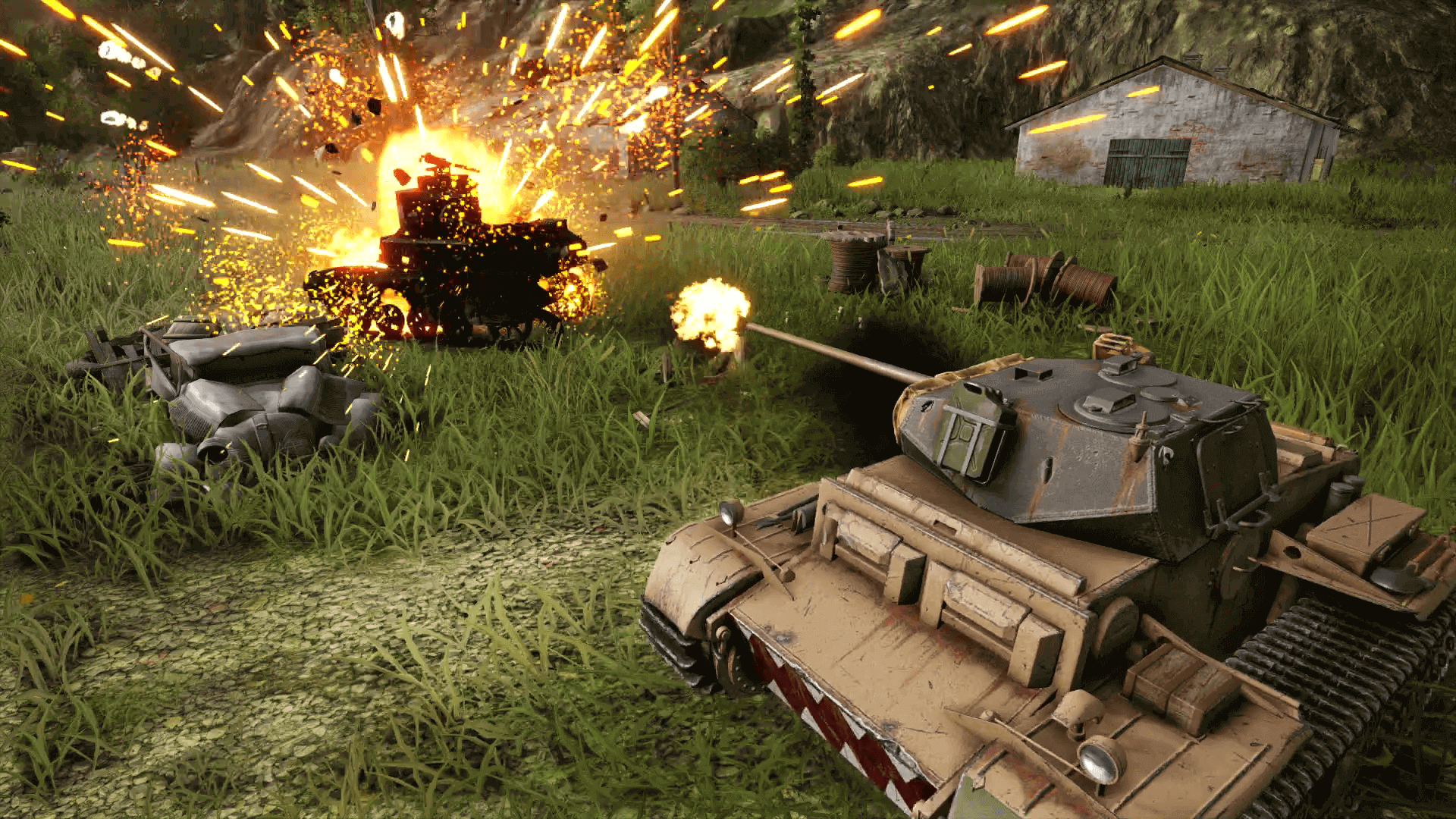 World of Tanks Mercenaries PS4 Xbox One PC Italien News Wargaming Titel