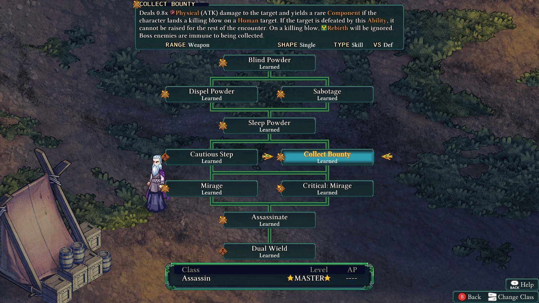 Fell Seal Arbiter's Mark Titel Review Kritik Test PlayStation 4 PS4 Skill Tree