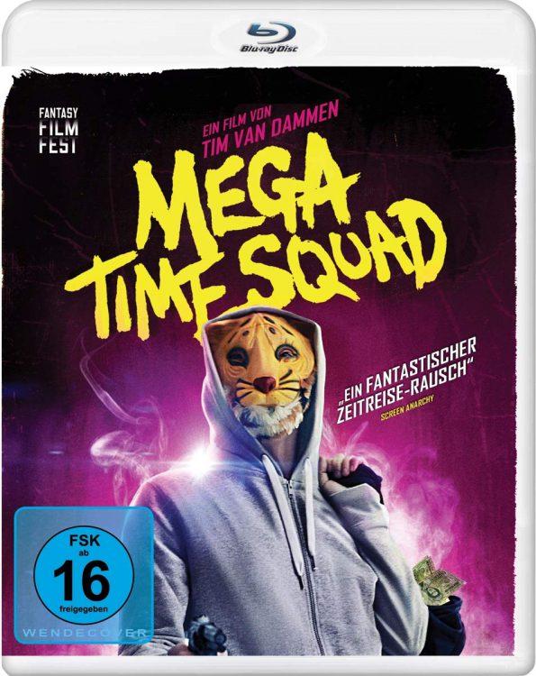 Mega Time Squad Blu-ray DVD Gewinnspiel Packshot Zeitreise